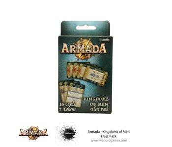 Mantic Games Armada Card Deck Kingdoms Of Men Fleet Pack