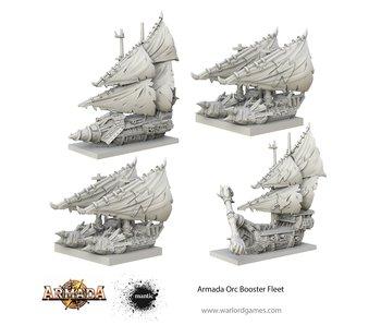 Mantic Games Armada Orc Booster Fleet