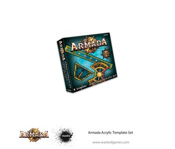 Mantic Games Armada Acrylic Template Set