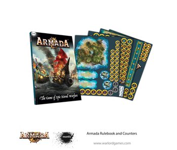 Mantic Games Armada Rulebook & Counters