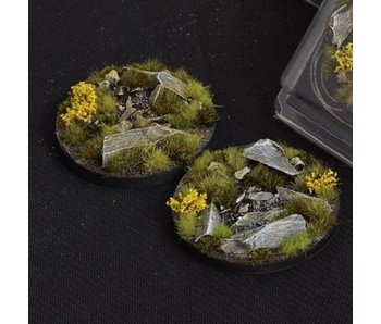 Highland Bases Round 60mm (x2)