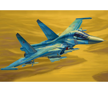 Russian Su-34 Fullback Fighter-Bomber (1/48)