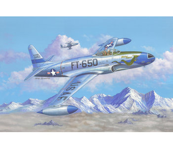 F-80C Shooting Star fighter (1/48)