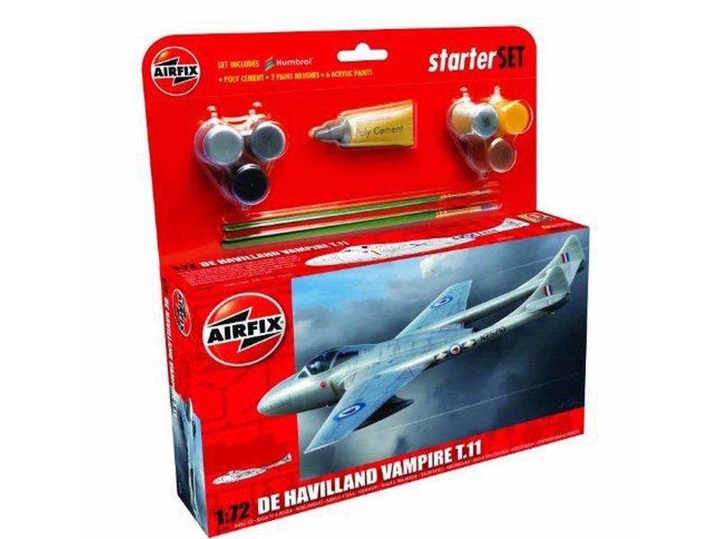Airfix Airfix 1:72 De Havilland Vampire T11