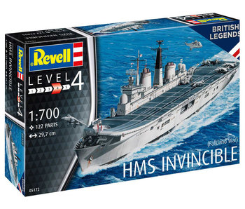 Model Set Hms Invincible Falkland Islands (1/700)