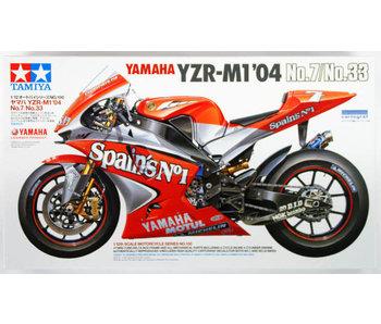 Yamaha Yzr-M1 '04 No 7/33 (1/12)