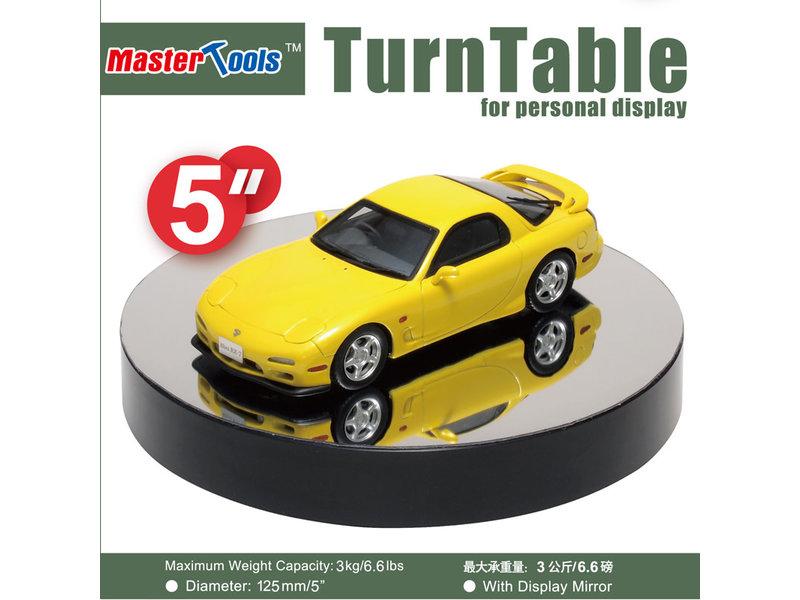 125mm Turntable Display