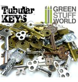 Green Stuff World Tubular KEYS Beads 85gr