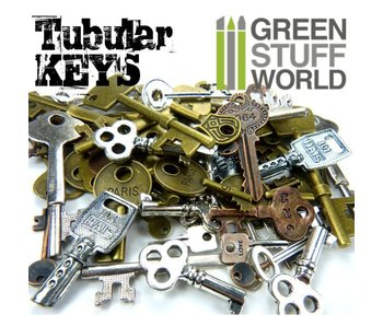 Tubular KEYS Beads 85gr