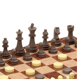 Magnetic Chess & Draught Set Large