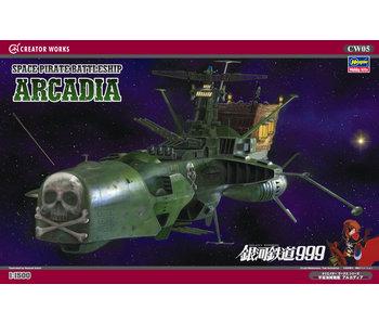 Space Pirate Battleship Arcadia (1/1500)
