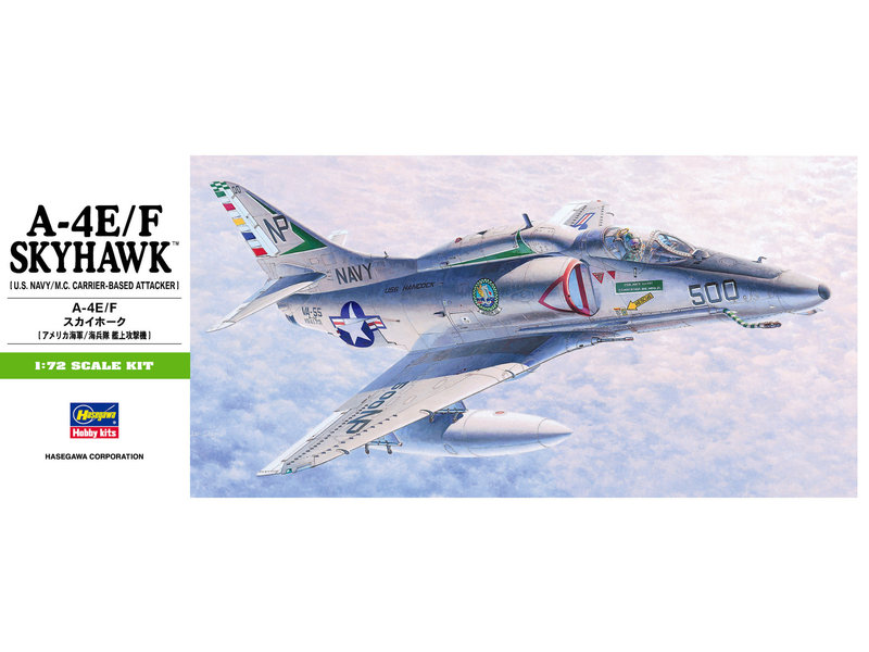 Hasegawa A-4E/F Skyhawk B9 (1/72)