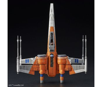 Poe X-Wing Fighter (Rise Of Skywalker Ver.) (Star Wars), Bandai Model (1/72)