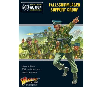 Bolt Action Fallschirmjäger Support Group (Hq, Mortar & Mmg)