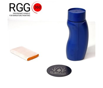 Red Grass Gaming 360 handle black/blue