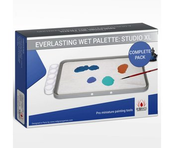 Red Grass Gaming Everlasting Wet Palette - Studio  Complete Pack