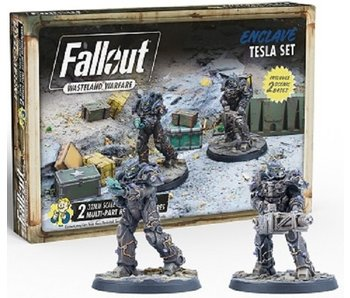 Fallout Wasteland Warfare - Enclave Tesla Set