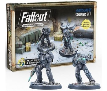 Fallout Wasteland Warfare - Enclave Soldier Set