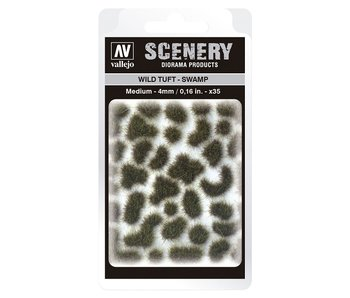 Scenery Diorama Products - Wild Tuft -Swamp (Medium 4MM) (SC405)