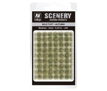 Scenery Diorama Products - Wild Tuft -Autumn (Medium 5MM) (SC409)