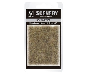 Scenery Diorama Products - Dry Wild Tuft (Extra Large 12MM) (SC425)