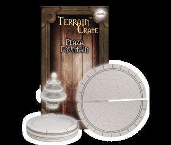 Terrain Crate - Plaza Fountain