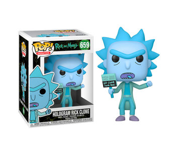 Pop! Animation Rick And Morty- Hologram Rick Clone