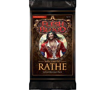Flesh & Blood TCG - Welcome To Rathe Unlimited Booster Pack
