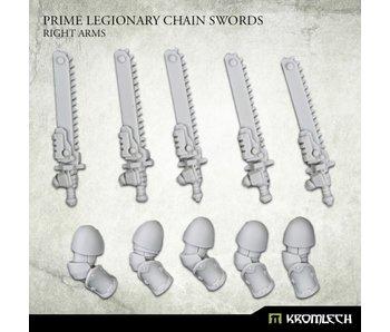 Prime Legionaries CCW Arms - Chain Swords[right] (5) (KRCB267)