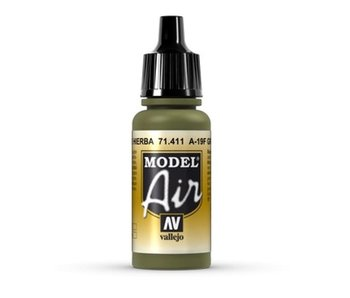 Model Air - A-19F Grass Green (71.411)