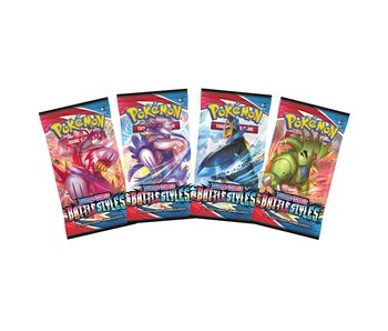 Pokemon Swsh5 Battle Styles Booster Pack