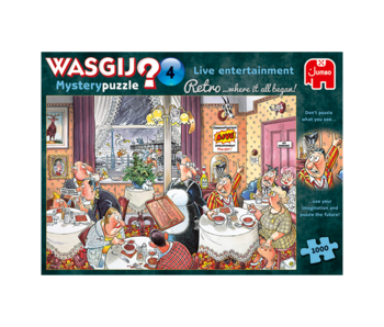 Jumbo 1000 pcs.Wasgij Retro Mystery #4 Live Entertainement!
