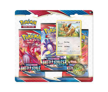 Pokemon Swsh5 Battle Styles 3Pk Blister