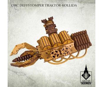 Orc Deffstomper Traktor-Kollida