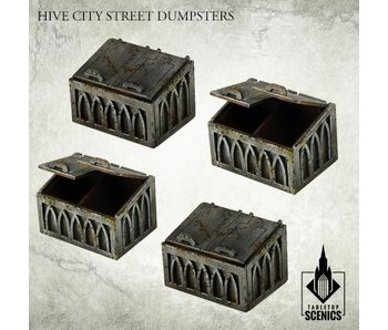Hive City Street Dumpsters