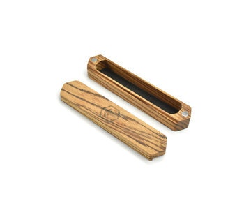 Ferox Wanderer Dice Box (Zebrawood)