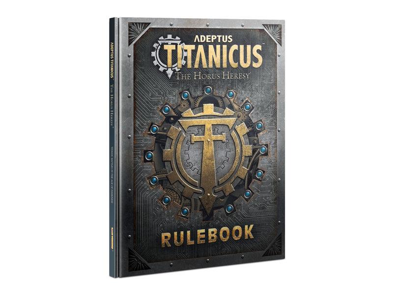 Games Workshop Adeptus Titanicus - Rulebook (English)