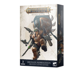 Broken Realms - Drongons Aether-Runners (PRE ORDER)