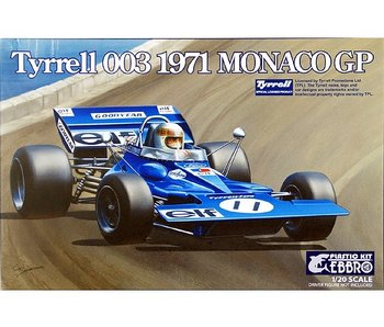 Tamiya Ebbro - 1/20 Tyrrell 003 Monaco Gp
