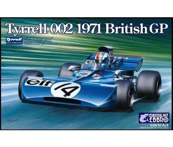Tamiya Ebbro - 1/20 Tyrrell 002 British Gp