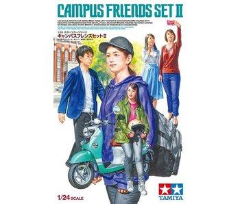 Tamiya Campus Friends Set Ii (1/24)
