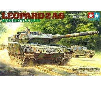 Tamiya Leopard 2 A6 Main Battle Tank (1/35)