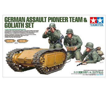 Tamiya German Pioneer & Goliath Set (1/35)