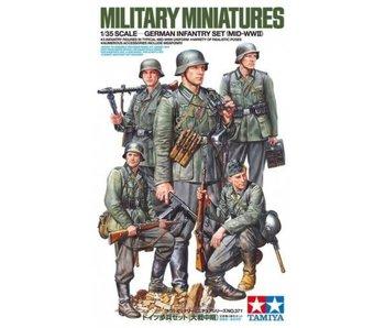 Tamiya German Infantry Mid Wwii (1/35)