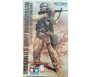 Tamiya Modern Us Army Infantryman (Desert Uniform) (1/16)