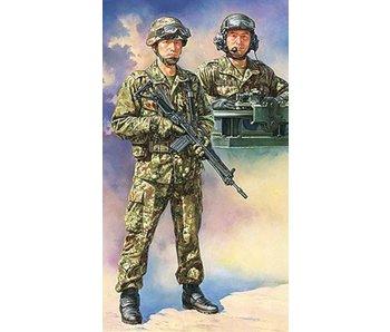 Tamiya 1/16 Jgsdf Tank Crew