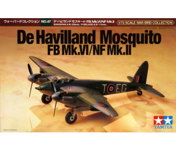Tamiya 1/72 De Havilland Mosquito Fb Mk Iv / Nf Mk Ii