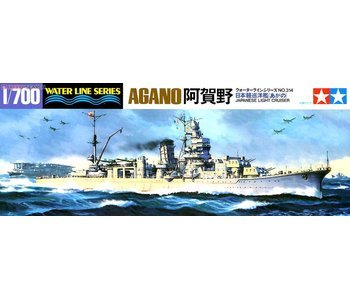 Tamiya Agano Light Cruiser (1/700)