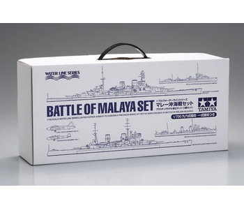 Tamiya Battle Of Malya Set & Pamphlet (1/700)