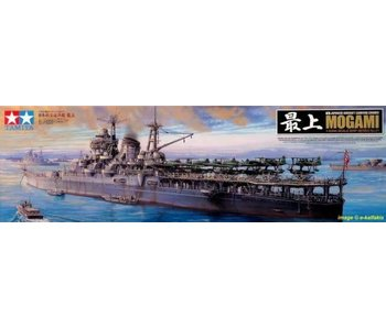 Tamiya 1/350 Japanese Aircraft Mogami Carrying Cruiser
